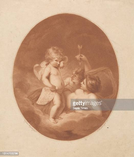 Venus Chiding Cupid, Print made by Francesco Bartolozzi RA, 1728–1815, Italian, active in Britain , after Sir Joshua Reynolds RA, 1723–1792, British...