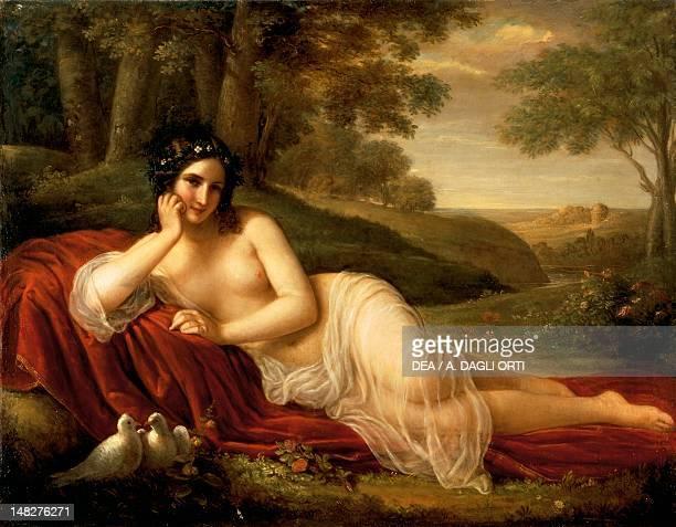 Venus laying down by Natale Schiavoni Brescia Pinacoteca TosioMartinengo