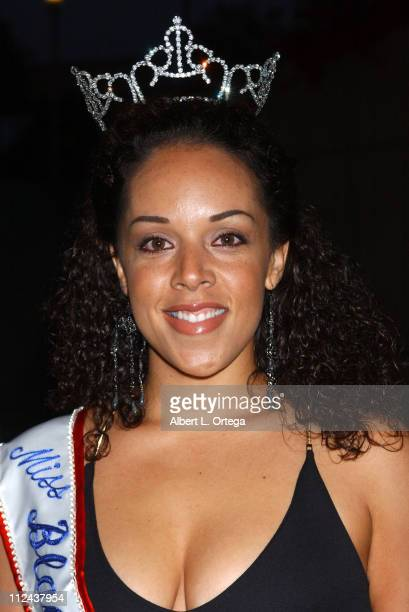 Venus Mannuel, Miss Black USA 2004 during Voices of Our Children Benefit for Penny Lane Honoring Alan Rosenberg and Marg Helgenberger at Cathedral...