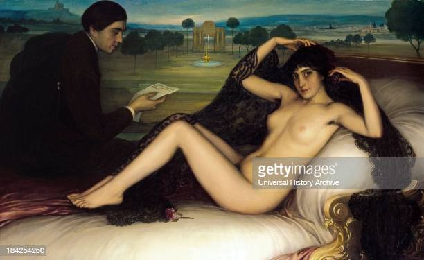 Venus of Poetry by Julio Romero de Torres Circa 1913 oil on canvas The Spanish painter lived between 18741930