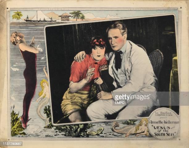 Venus Of The South Seas lobbycard from left Annette Kellerman Roland Purdie 1924