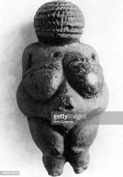 Venus of Willendorf Stone Age oolitic limestone carving c24000c22000 BC A carved female figure discovered at a Palaeolithic site at Willendorf...