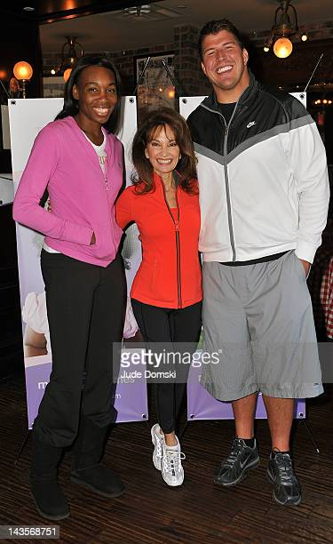 Venus Williams Actress Susan Lucci and New York Giants lineman David Diehl attend the 2012 March of Dimes March for Babies on the Streets of...