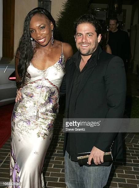 Venus Williams and Brett Ratner during 6th Annual Mercedes-Benz DesignCure at Home of Sugar Ray and Bernadette Leonard in Pacific Palisades,...