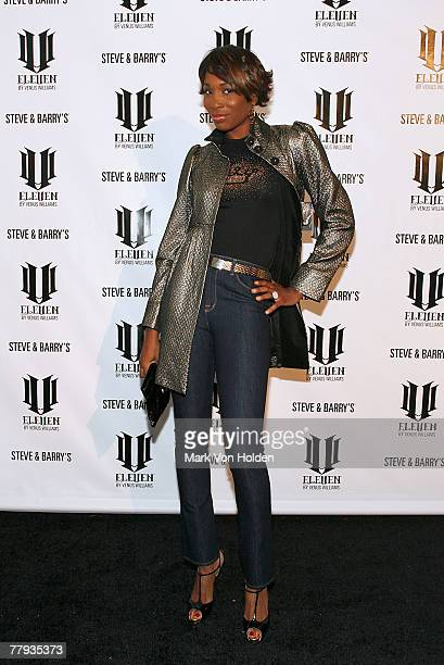 Venus Williams at the launch of her EleVen clothing line on November 14 , 2007 at Tenjune in New York.