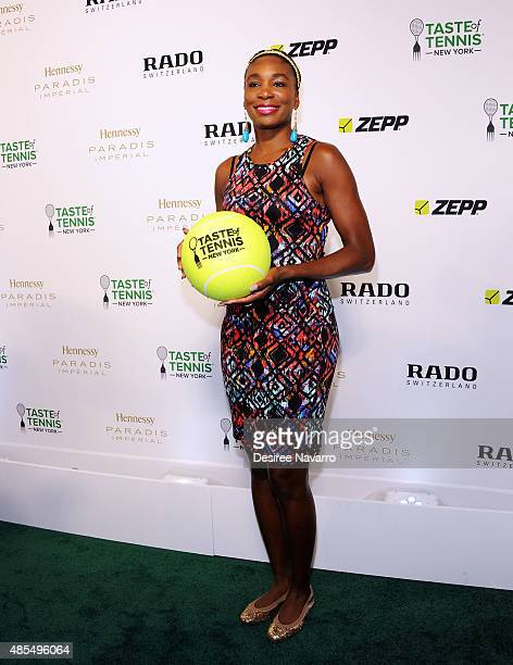 Venus Williams attends 2015 Taste of Tennis New York at W New York Hotel on August 27 2015 in New York City