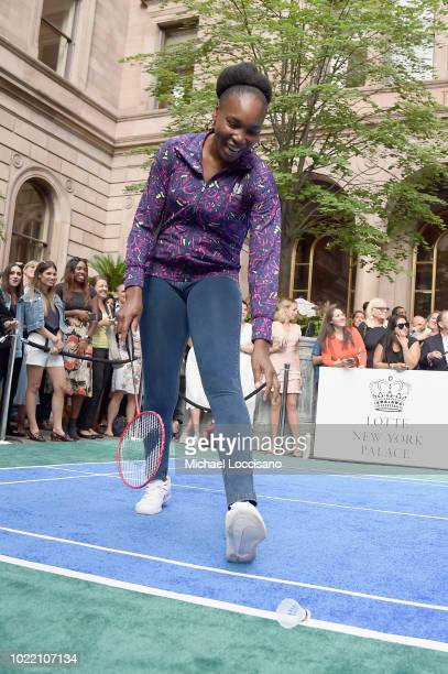 Venus Williams attends 2018 Lotte New York Palace Invitational on August 23 2018 in New York City