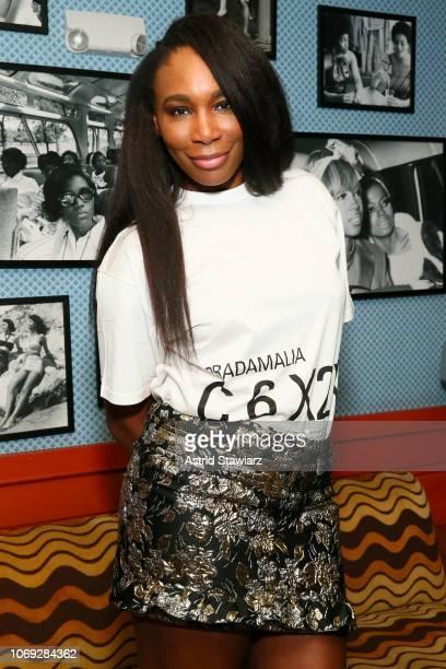 Venus Williams attends Prada Mode Miami Night 3 at Freehand Miami on December 6, 2018 in Miami, Florida.