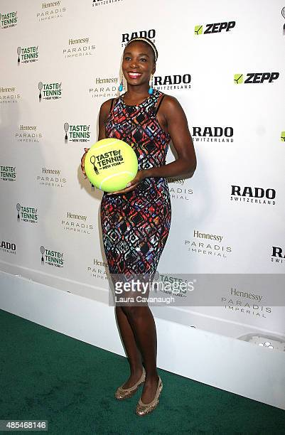 Venus Williams attends the 2015 Taste of Tennis New York at the W New York Hotel on August 27 2015 in New York City