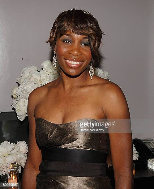Venus Williams attends the Nina Ricci After Party For Met Ball Hosted By Olivier Theyskens and Lauren Santo Domingo at Philippe in New York on May...