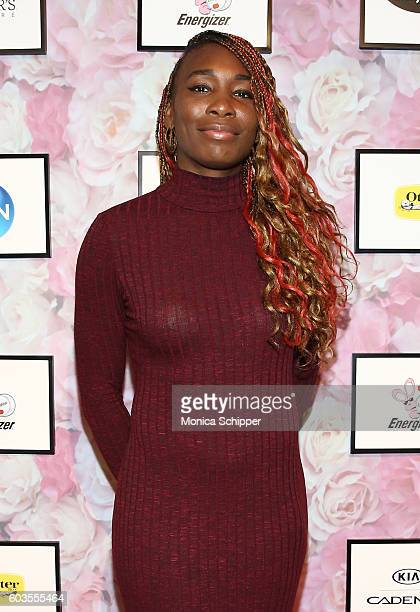Venus Williams attends the Serena Williams Signature Statement Collection By HSN during Style360 Fashion Week at Metropolitan West on September 12...
