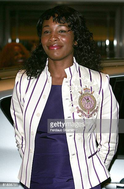 Venus Williams attends The Wimbledon Champions Dinner at Hotel Intercontinental Hyde Park Corner on July 6, 2008 in London, England.