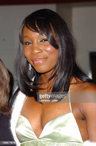 Venus Williams during 11th Annual Arthur Ashe Institute for Urban Health Sportsball at Pier 60 in New York City New York United States