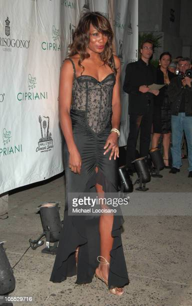 Venus Williams during The Cipriani Wall Street Concert Series Presents The Series Finale Beyonce at Cipriani Wall Street in New York City New York...