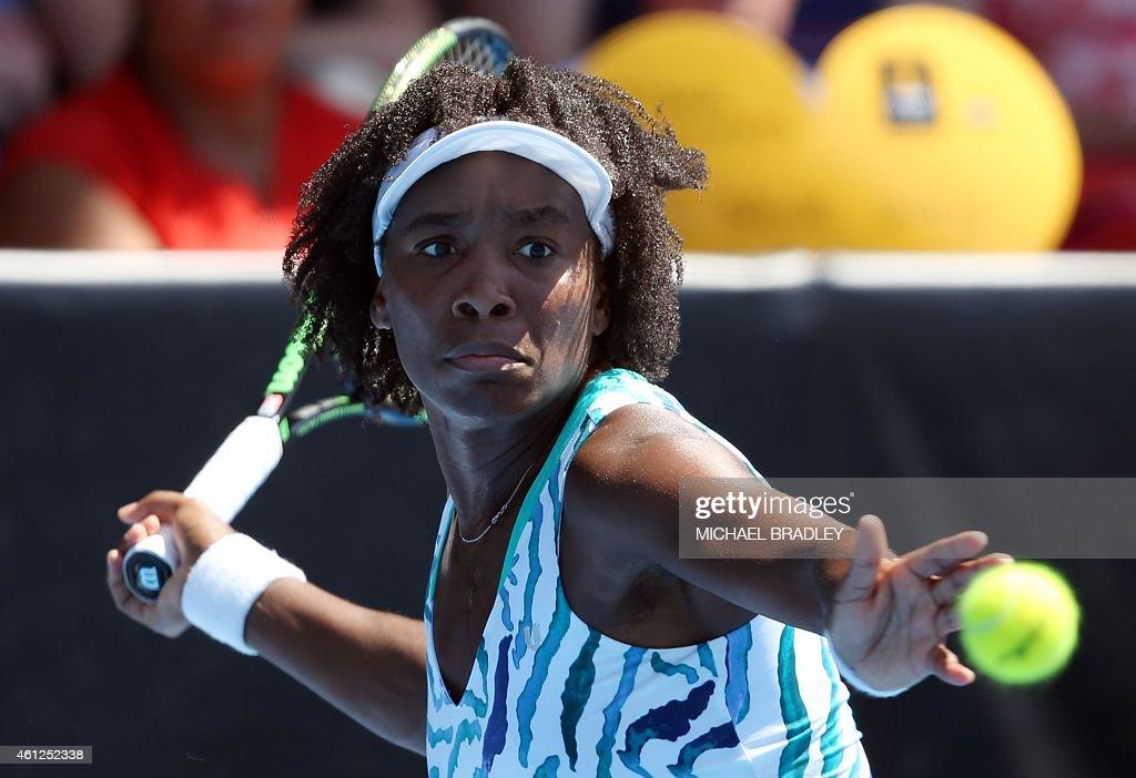 TENNIS-NZL-WTA : News Photo