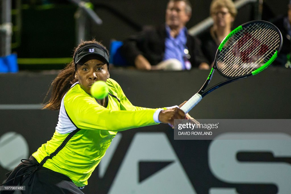 TENNIS-NZL-WTA : News Photo