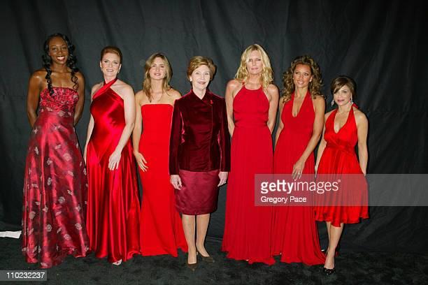 Venus Williams Sarah Ferguson Lauren Bush First Lady Laura Bush Patti Hansen Vanessa Williams and Paula Abdul