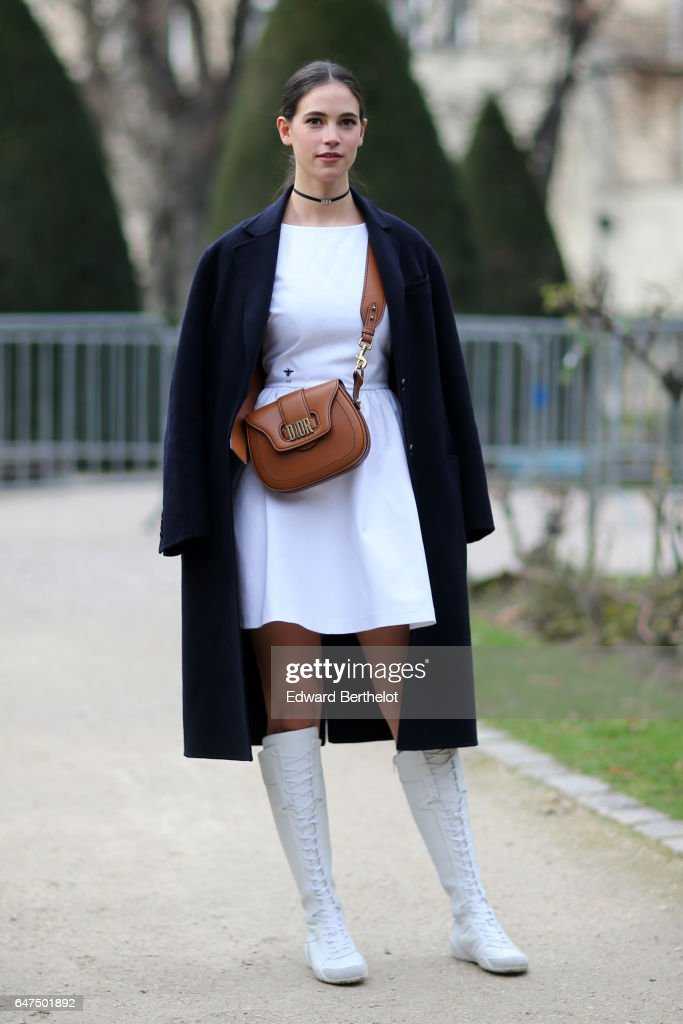 Vera Arrivabene attends the Christian Dior show as part of the Paris Fashion Week Womenswear Fall/Winter 2017/2018 on March 3, 2017 in Paris, France.