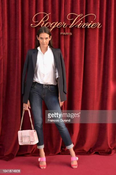 Vera Arrivabene attends the Roger Vivier Presentation Spring/Summer 2019 during Paris Fashion Week on September 27 2018 in Paris France