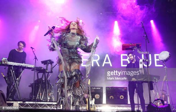 Vera Blue performs during Splendour in the Grass 2017 on July 21 2017 in Byron Bay Australia