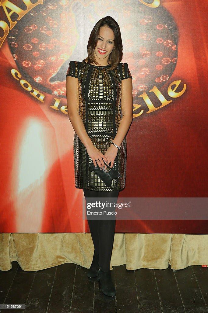 Vera Bondareva attends the 'Ballando con le stelle' 100th Episode Party at La Villa on December 9, 2013 in Rome, Italy.