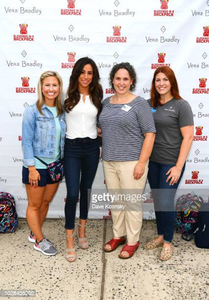 Vera Bradley Public Relations Manager Holly Wagner Social Influencer Danielle Jonas Greater Brunswick Charter School Education Director Vanessa Jones...