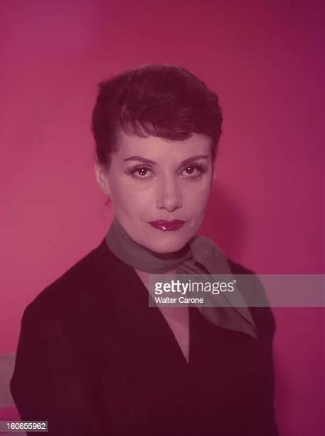 Vera Clouzot Actress And Wife Of Director Henry Clouzot Portrait de Véra CLOUZOT actrice et épouse du metteur en scène Henri Clouzot