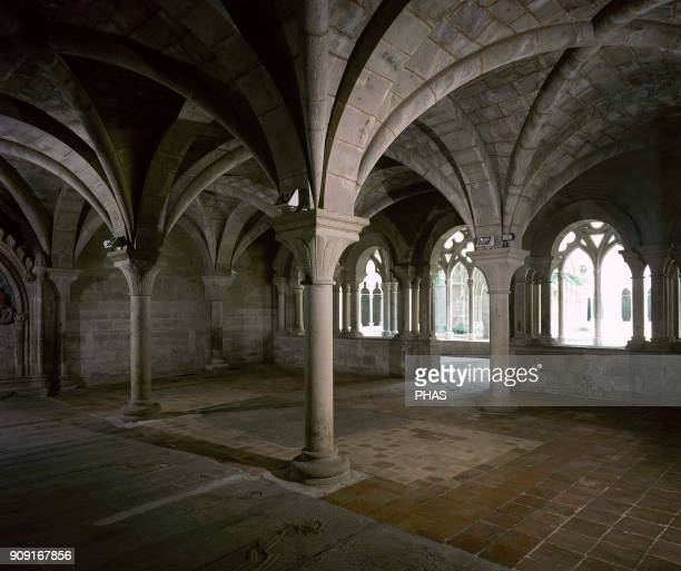 Vera de Mocayo province of Saragossa Aragon Spain Monastery of Veruela Founded in 1145 by Don Pedro Atares Señor de Borja It was the first cistercian...