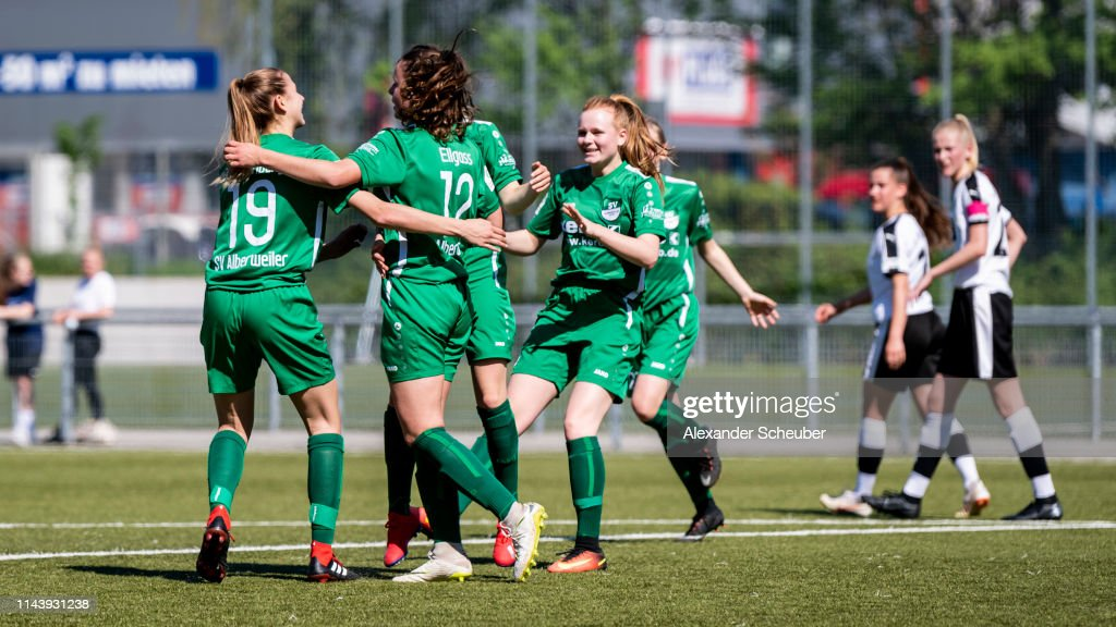 DEU: 1. FFC Frankfurt U 17 v SV Alberweiler U 17 - B Junior Girl's Bundesliga