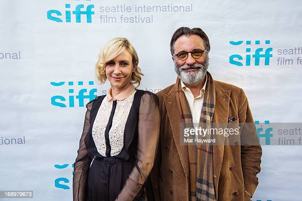 Vera Farmiga and Andy Garcia attend the Premiere of Middleton during the Seattle Film Festival at the Harvard Exit Theater on May 17 2013 in Seattle...