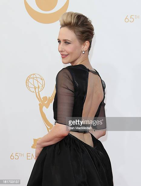 Vera Farmiga arrives at the 65th Annual Primetime Emmy Awards at Nokia Theatre LA Live on September 22 2013 in Los Angeles California