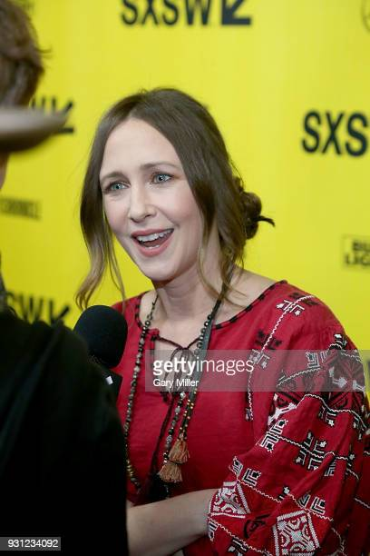 Vera Farmiga attends a screening of 'Boundaries' at the Paramount Theatre during South By Southwest on March 12 2018 in Austin Texas