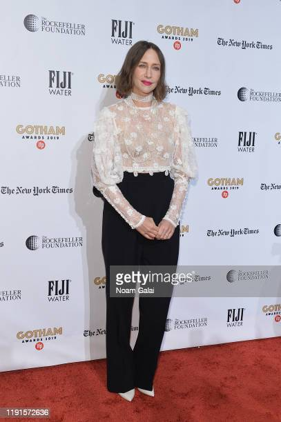 Vera Farmiga attends the 2019 IFP Gotham Awards with FIJI Water at Cipriani Wall Street on December 02, 2019 in New York City.