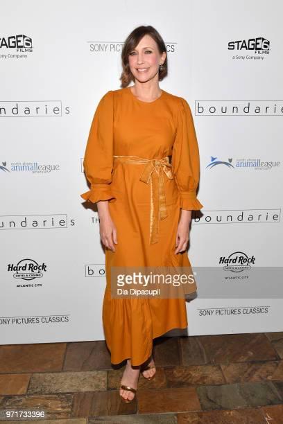 Vera Farmiga attends the 'Boundaries' New York screening at The Roxy Cinema on June 11 2018 in New York City