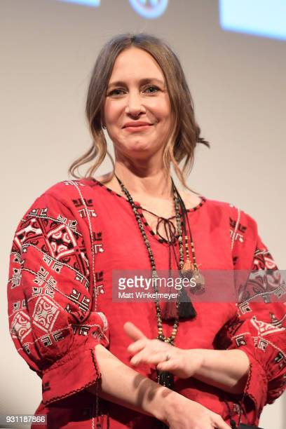 "Vera Farmiga attends the ""Boundaries"" Premiere 2018 SXSW Conference and Festivals at Paramount Theatre on March 12, 2018 in Austin, Texas."