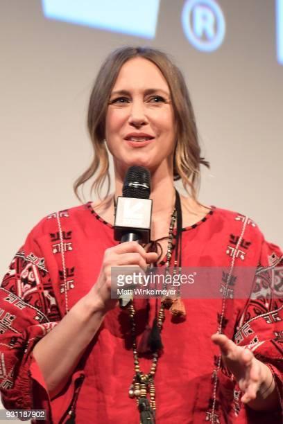Vera Farmiga attends the 'Boundaries' Premiere 2018 SXSW Conference and Festivals at Paramount Theatre on March 12 2018 in Austin Texas