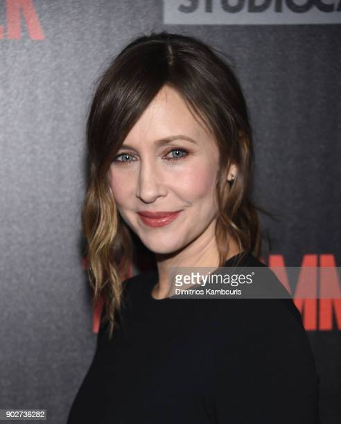 Vera Farmiga attends 'The Commuter' New York Premiere at AMC Loews Lincoln Square on January 8 2018 in New York City