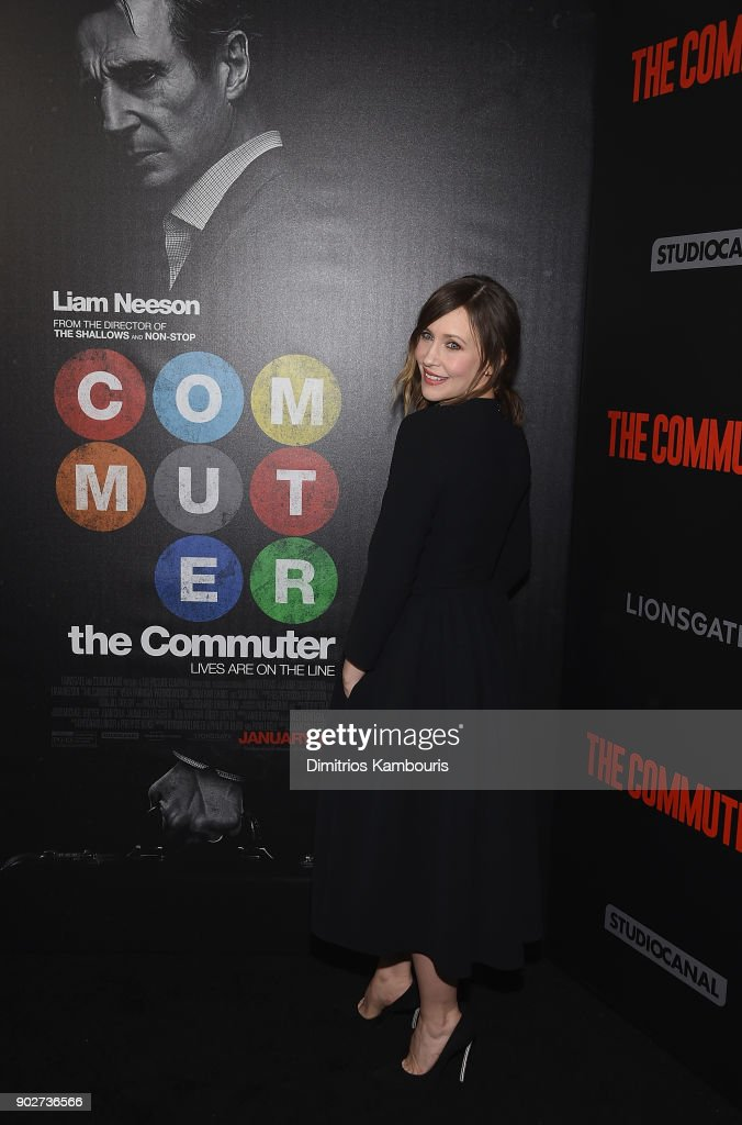 Vera Farmiga attends 'The Commuter' New York Premiere at AMC Loews Lincoln Square on January 8, 2018 in New York City.
