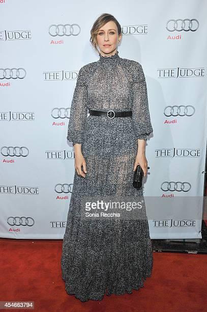Vera Farmiga attends 'The Judge' PostScreening Event Presented By Audi Canada At Montecito Restaurant 2014 Toronto International Film Festival on...