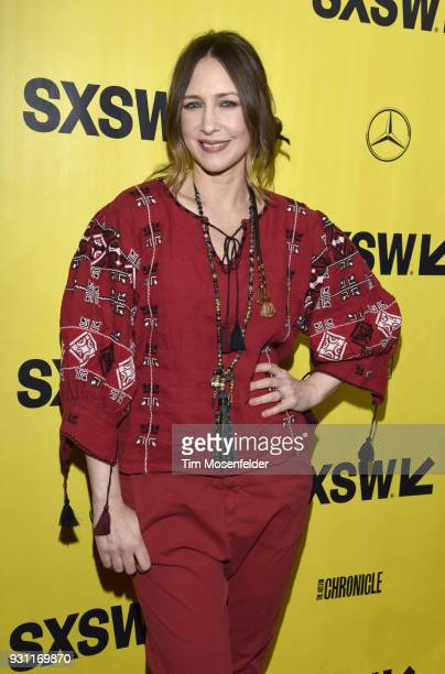 Vera Farmiga attends the premiere of Boundaries at the Paramount Theatre during on March 12 2018 in Austin Texas