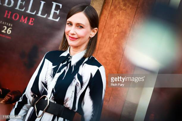 "Vera Farmiga attends the premiere of Warner Bros' ""Annabelle Comes Home"" at Regency Village Theatre on June 20, 2019 in Westwood, California."