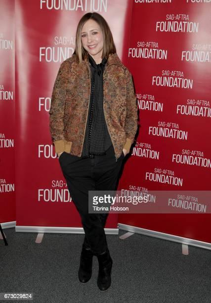 Vera Farmiga attends the SAGAFTRA Foundation Conversations and QA for 'Bates Motel' at SAGAFTRA Foundation Screening Room on April 25 2017 in Los...