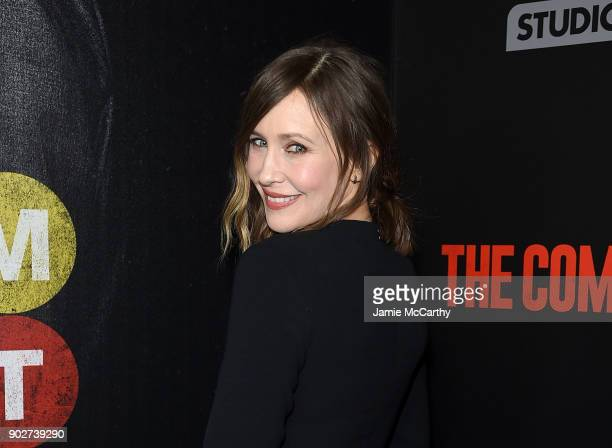Vera Farmiga attends the 'The Commuter' New York Premiere at AMC Loews Lincoln Square on January 8 2018 in New York City