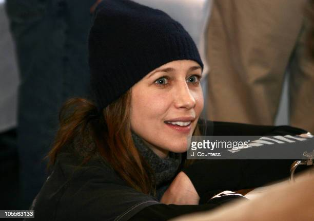 Vera Farmiga during 2005 Sundance Film Festival Sundance Juror's Brekfest at Ciseto's in Park City Utah United States