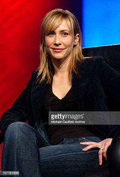 Vera Farmiga during USA SCI FI Presentation of 'Touching Evil' at the Television Critics Association Meeting at The Renaissance Hotel in Hollywood...