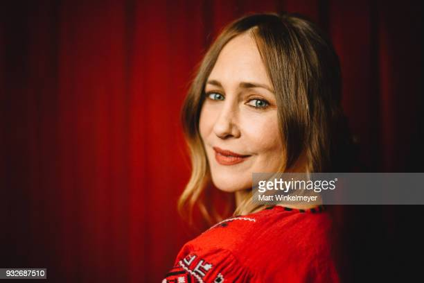 Vera Farmiga poses for a portrait at the 'Boundaries' Premiere 2018 SXSW Conference and Festivals at Paramount Theatre on March 12 2018 in Austin...