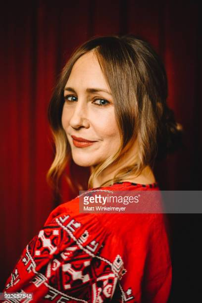Vera Farmiga poses for a portrait at the 'Boundaries' Premiere 2018 SXSW Conference and Festivals at Paramount Theatre on March 12, 2018 in Austin,...