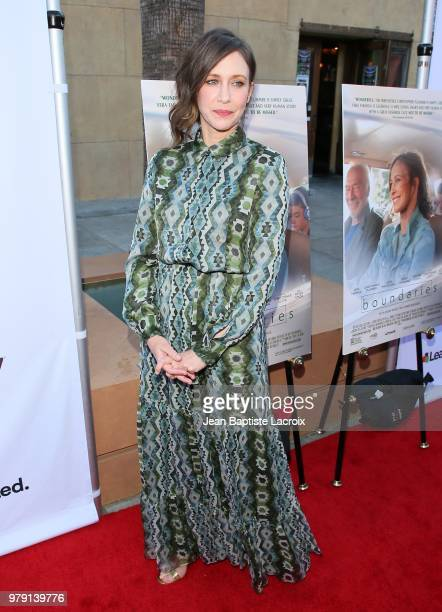 Vera Fermiga attends the Premiere Of Sony Pictures Classics' 'Boundaries' at American Cinematheque's Egyptian Theatre on June 19 2018 in Hollywood...