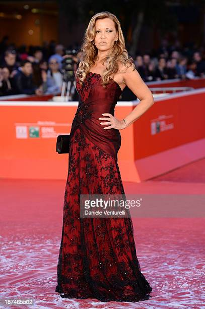 Vera Gemma attends 'Manto Acuifero' Premiere And 'Giuliano Gemma Un Italiano Nel Mondo' Premiere during The 8th Rome Film Festival on November 9 2013...