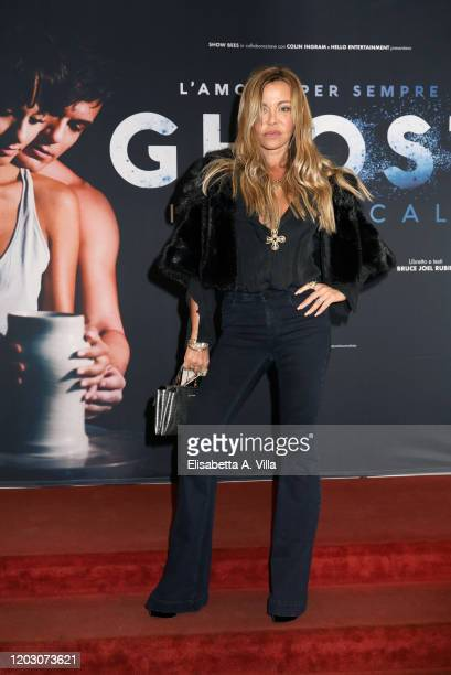 Vera Gemma attends the Ghost The Musical Photocall at Teatro Sistina on January 30 2020 in Rome Italy